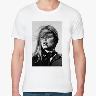 Футболка из органик-хлопка Brigitte Bardot