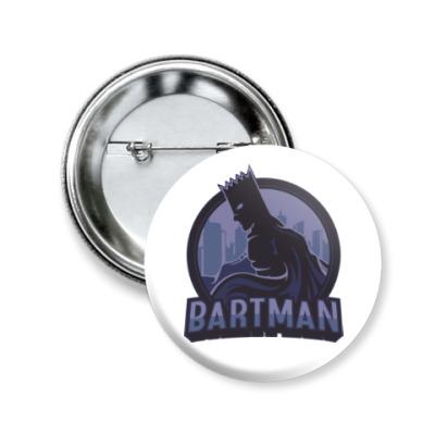 Значок 50мм Bartman