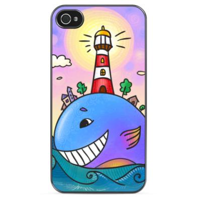 Чехол для iPhone Рыба-маяк