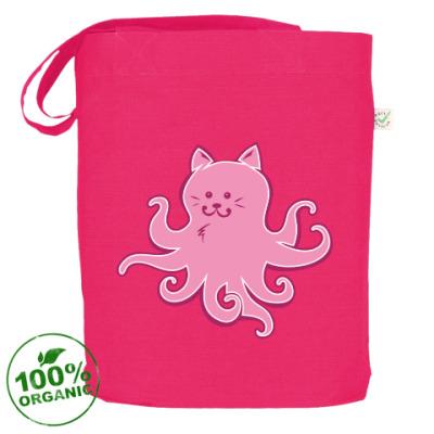 Сумка Котик-осьминожка. Cat-octopus.