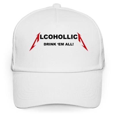 Кепка бейсболка Alcohollica