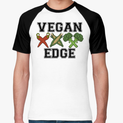 Футболка реглан vegan XXX edge