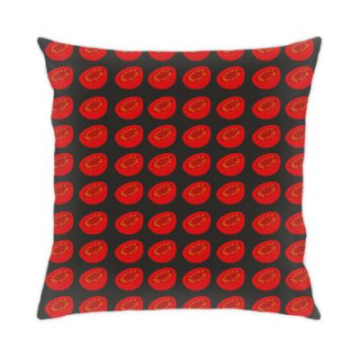 Подушка красные томаты