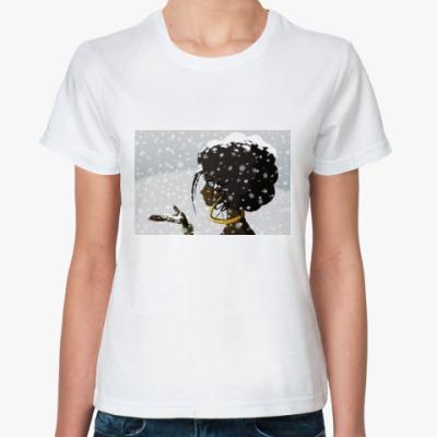 Классическая футболка  «Черное и Белое»