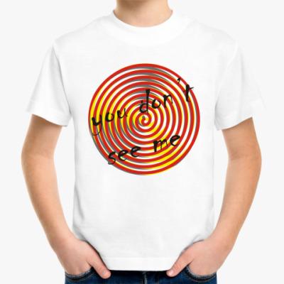 Детская футболка you don't see me