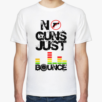 Футболка No Guns Just Bounce