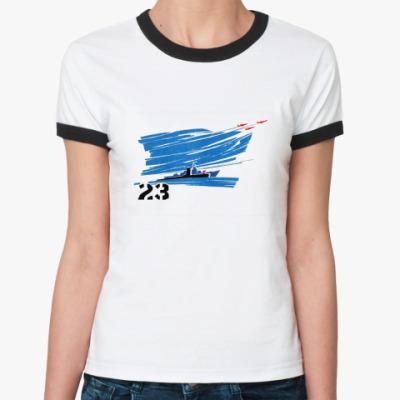 Женская футболка Ringer-T 23  Жен ()