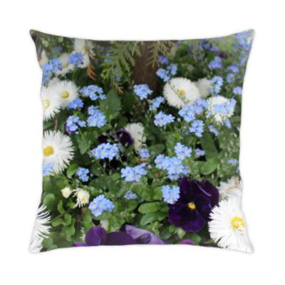 Подушка Цветочный ковёр