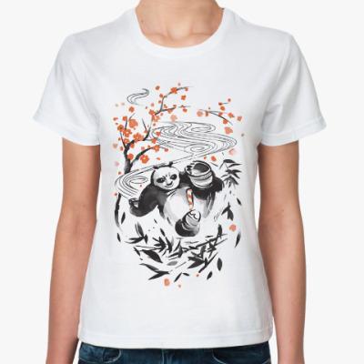 Классическая футболка Панда