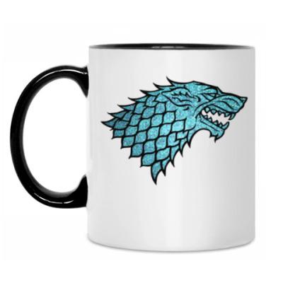 Кружка Stark Wolf