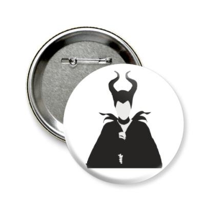 Значок 58мм Maleficent