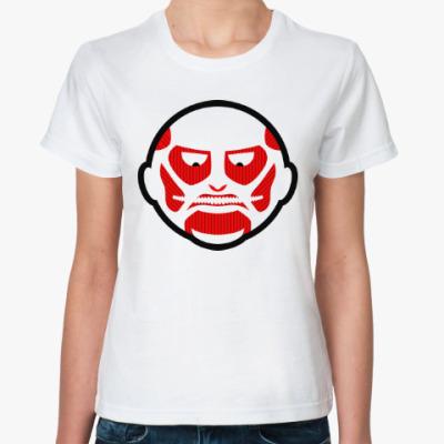 Классическая футболка Атака Титанов