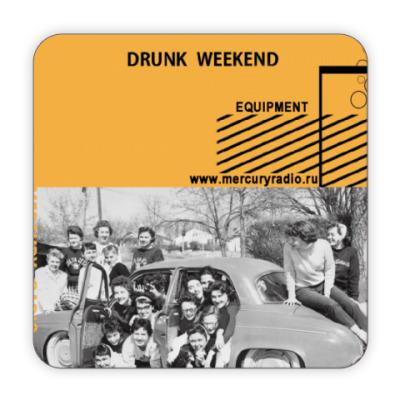 Костер (подставка под кружку) Подставка Drunk Weekend