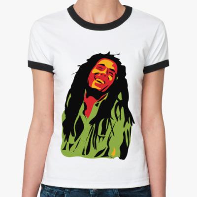 Женская футболка Ringer-T Marley  Жен ()