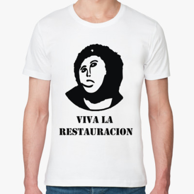 Футболка из органик-хлопка  Viva la Restauration