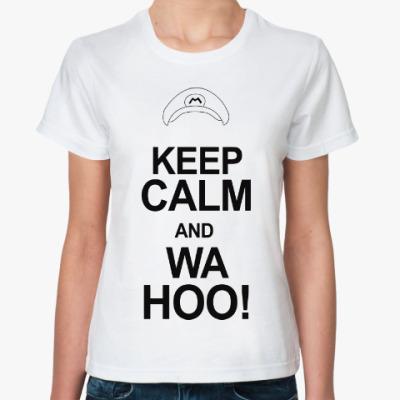 Классическая футболка Марио