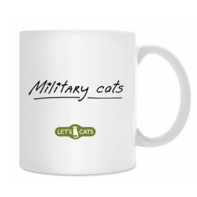 кот ВиВаСя  из серии 'Military cats'