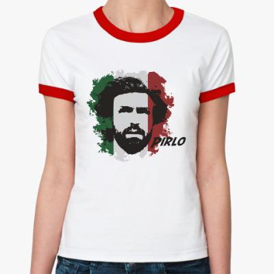 Женская футболка Ringer-T Пирло