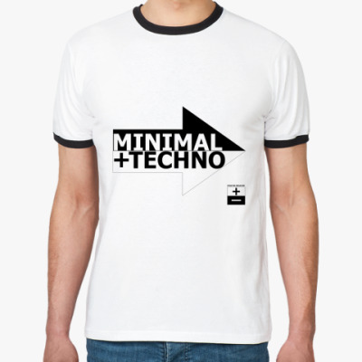Футболка Ringer-T Minimal Techno