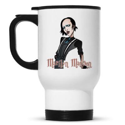 Кружка-термос Marilyn Manson