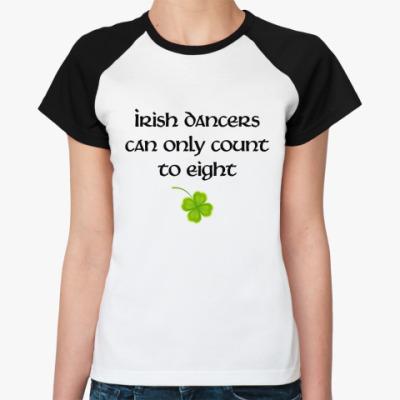 Женская футболка реглан  Count to 8