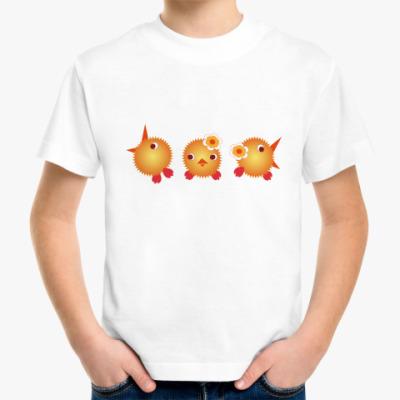 Детская футболка Цыплята