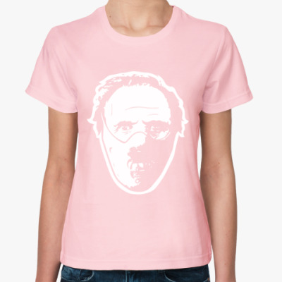 Женская футболка Ганнибал Лектер