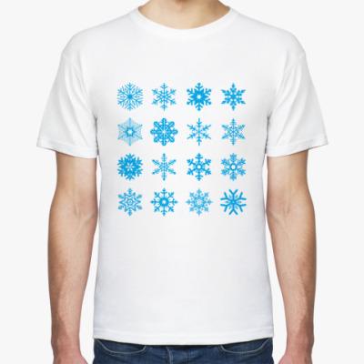 Футболка Snowflakes