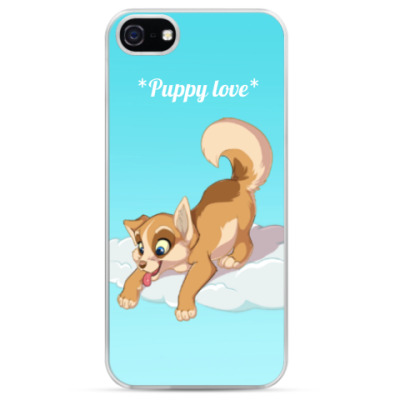 Чехол для iPhone puppy love