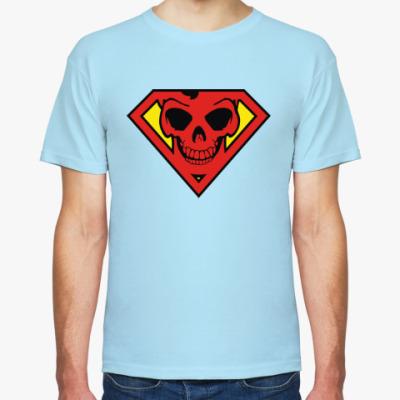 Футболка Skull Superman