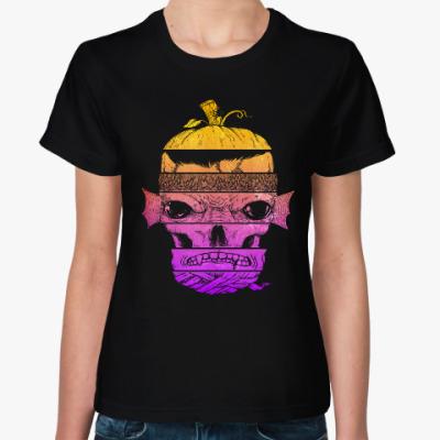 Женская футболка Тыква Монстр