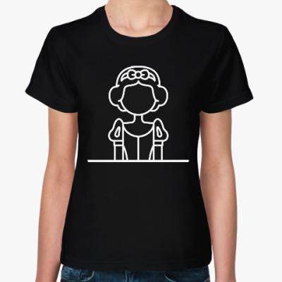 Женская футболка Белоснежка