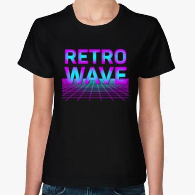 Женская футболка Retrowave