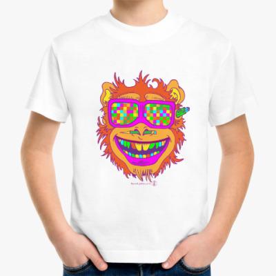 Детская футболка Обезьяна