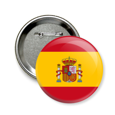 Значок 58мм Испания, Spain