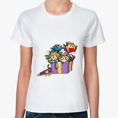 Классическая футболка  Новогодняя
