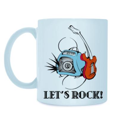 Кружка Let's Rock!