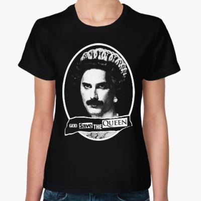 Женская футболка God save the Queen