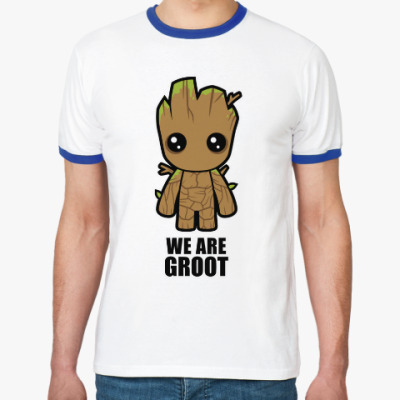 Футболка Ringer-T We are Groot