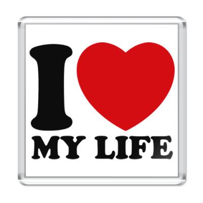 Магнит Люблю свою жизнь