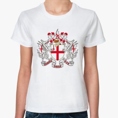 Классическая футболка Лондон