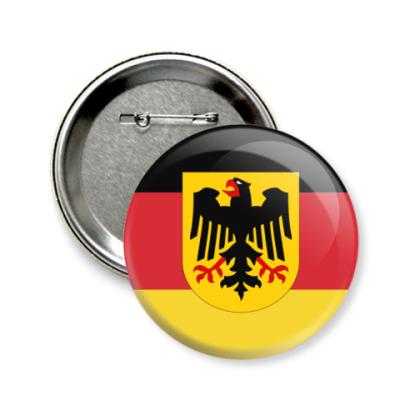 Значок 58мм Deutschland