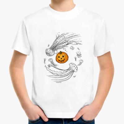 Детская футболка Тыква и медузы