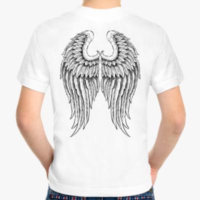 Детская футболка Крылья