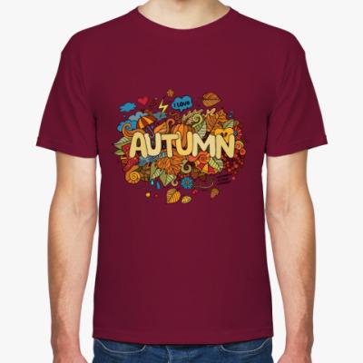 Футболка 'Я люблю Осень'