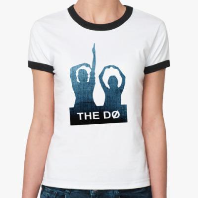 Женская футболка Ringer-T The Dø