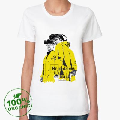 Женская футболка из органик-хлопка  органик Breaking Bad