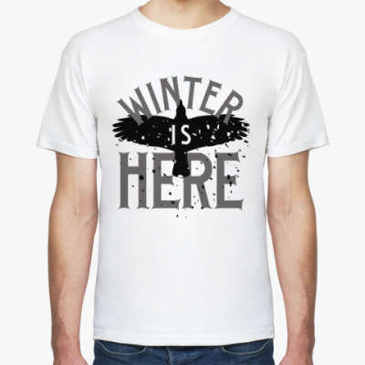 Футболка Winter is here