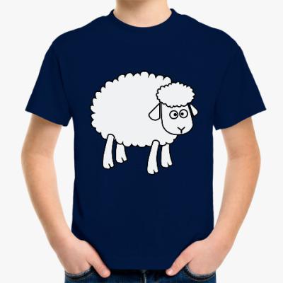 Детская футболка Овца