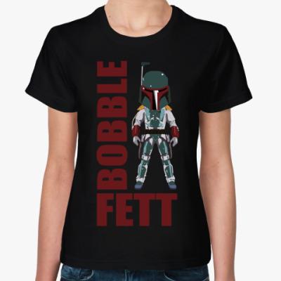Женская футболка BOBBLE FETT